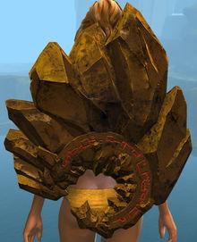 Gold Fractal Shield Skin Guild Wars 2 Wiki Gw2w