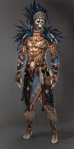 D Artiste Character Design Download : Tribal armor guild wars wiki gw w