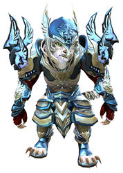 Glorious Hero's armor (heavy) charr female front.jpg