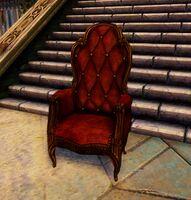 Plush Armchair