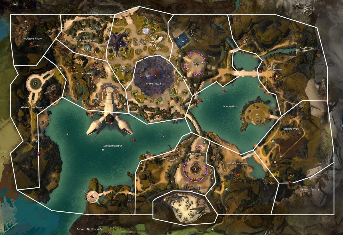 Gw2 Mystic Forge Location