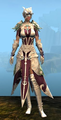 Triumphant armor (light) human female front.jpg