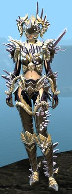 Blossoming Mist Shard armor (heavy) human female front.jpg