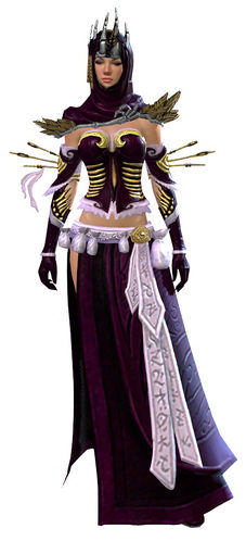 Whisper's Secret armor (light) human female front.jpg