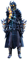 Flame Legion armor (medium) sylvari male front.jpg