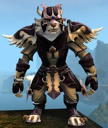 Triumphant armor (light) charr female front.jpg