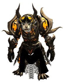 Warbeast armor (heavy) charr female front.jpg