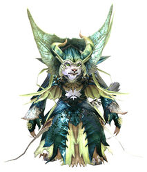Nightmare Court armor (light) charr female front.jpg