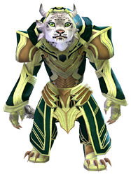 Priory's Historical armor (light) charr female front.jpg