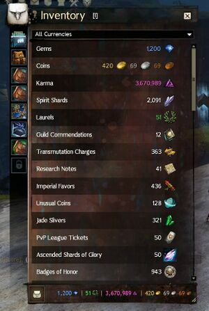 Currency guild wars 2 wiki gw2w currency forumfinder Gallery