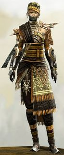 Spearmarshal's armor (medium) human female front.jpg