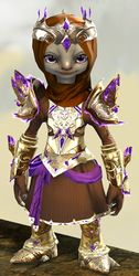 Mistforged Glorious Hero's armor (light) asura female front.jpg