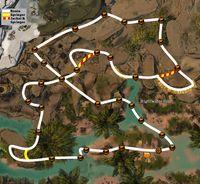 Reach the finish line! (Desert Highlands) - Guild Wars 2
