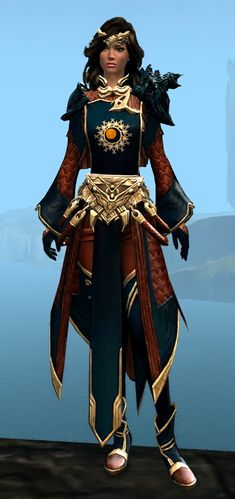 Ornate Guild armor (light) human female front.jpg