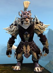 Triumphant Hero's armor (light) charr female front.jpg