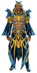 Feathered armor human male front.jpg