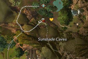 Sunshade Caves Guild Wars 2 Wiki Gw2w