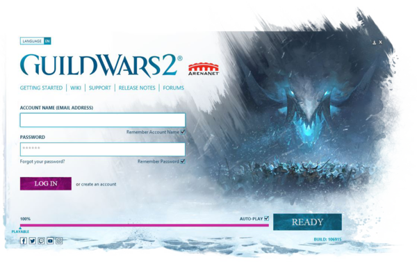 Account login - The Icebrood Saga launcher design.png
