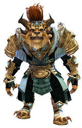 Armor of Koda (light) charr male front.jpg