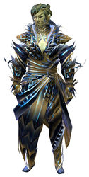 Nightmare Court armor (medium) sylvari male front.jpg