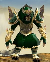 Ardent Glorious armor (light) charr female front.jpg