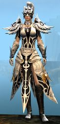 Triumphant Hero's armor (light) norn female front.jpg