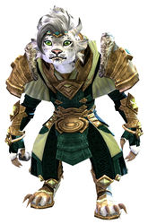 Armor of Koda (light) charr female front.jpg