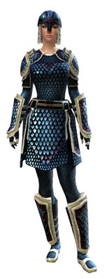 Scale armor human female front.jpg