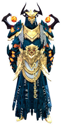 Flame Legion armor (light) human male front.jpg