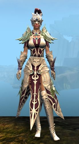 Triumphant Hero's armor (light) human female front.jpg