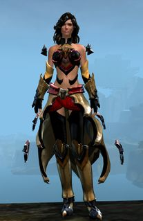 Refined Envoy armor (light) human female front.jpg