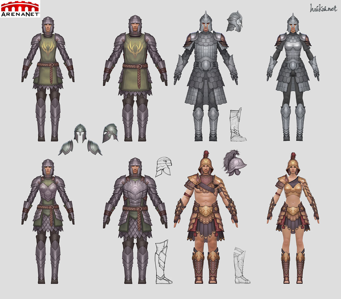 Male Armor Concept Art