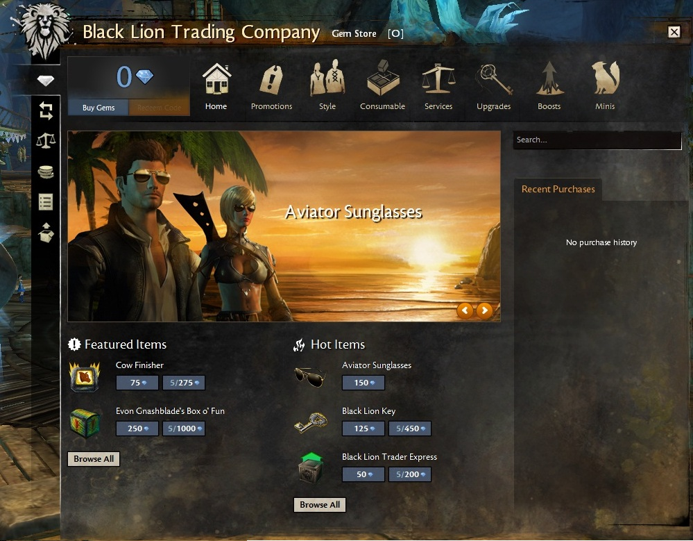 Black Lion Trading Company - Guild Wars 2 Wiki (GW2W)