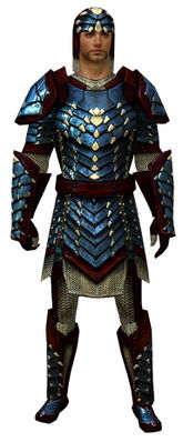 Reinforced Scale armor human male front.jpg
