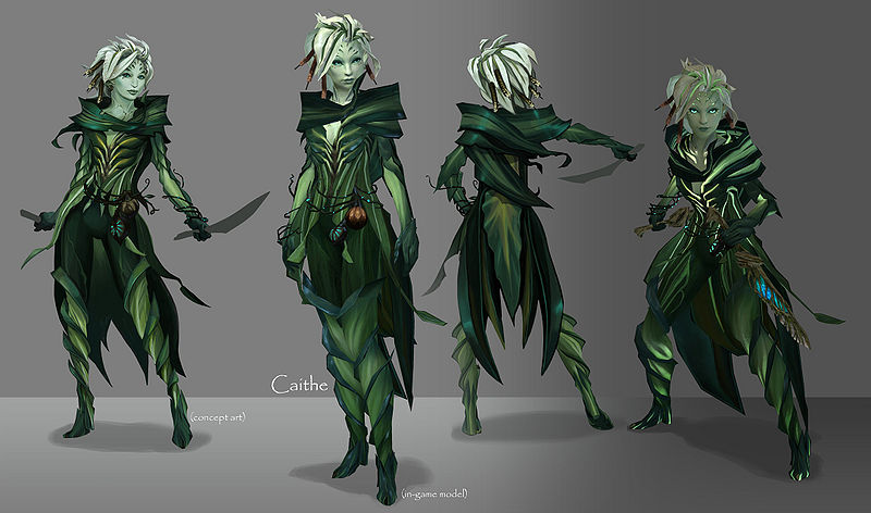 10 reasons to play Guild Wars 2 800px-Caithe_series_concept_art