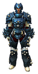 Studded Plate armor human male front.jpg