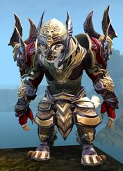 Ardent Glorious armor (heavy) charr female front.jpg