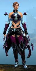 Refined Envoy armor (light) norn female front.jpg