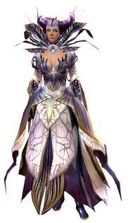 Nightmare Court armor (light) human female front.jpg