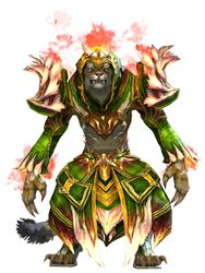 Flamekissed armor charr female front.jpg