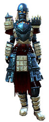 Forgeman armor (heavy) human female front.jpg