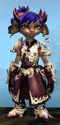 Leystone armor (light) asura female front.jpg