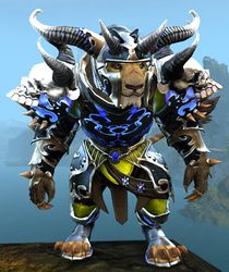 Mistforged Triumphant Hero's armor (heavy) charr male front.jpg