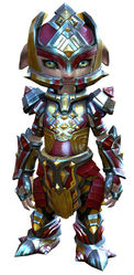 Electroplated armor asura female front.jpg