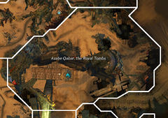 Azabe Qabar, the Royal Tombs map.jpg