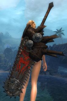 Greatsaw (skin) - Guild Wars 2 Wiki (GW2W)