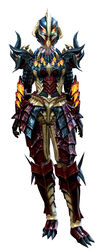 Flame Legion armor (heavy) human female front.jpg