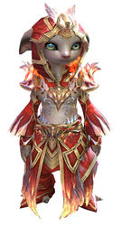 Flamekissed armor asura female front.jpg