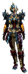 Flame Legion armor (heavy) norn female front.jpg