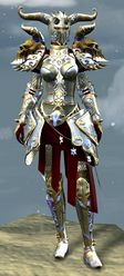 Mistforged Triumphant Hero's armor (heavy) norn female front.jpg